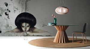 Picture of Superstar, rounded dining table