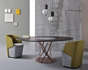 Picture of Tori, rounded dining table