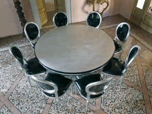 Picture of VANITY table, table with rounded top