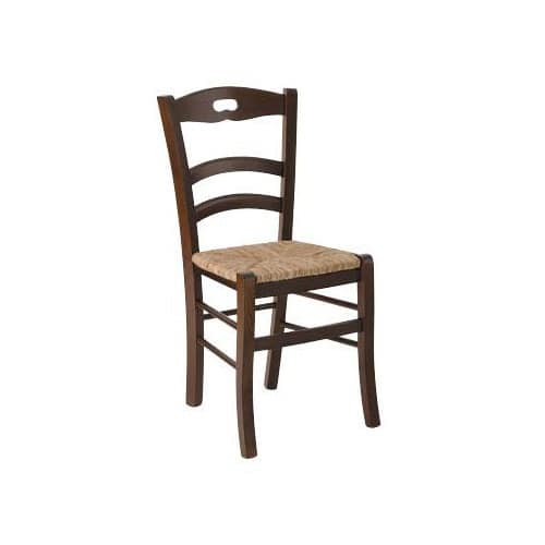 180, Rustic chair with straw seat, for taverns and lodges