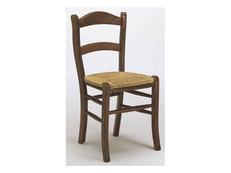 303, Rustic chair in beechwood for bars and restaurants