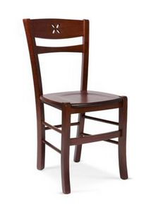 811 L, Rustic wooden chair, for taverns and inns