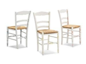 Picture of CAMPAGNOLA 43 D, rustic wooden chairs