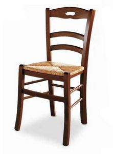 Menton, Chair with straw seat