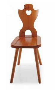 Merano, Pine chair, for hotels in the mountains