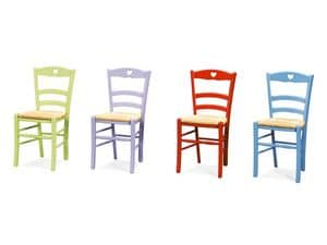 Picture of PETIT COEUR 43 P, rustic chairs