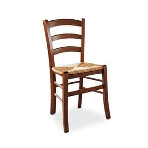 Picture of Veneta chair, chair with wooden backrest