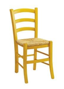 Venezia, Rustic chair available in various colors