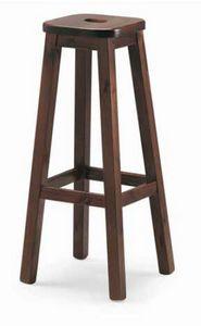 Quadro-A, Rustic pine stool