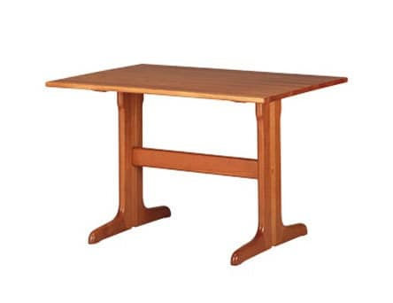 603, Rustic rectangular table, in beech, for Kitchen