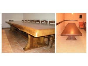 Picture of Country table, wooden tables