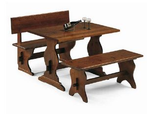 Rustica-T, Rustic table for farmhouse restaurants