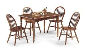 Picture of Table 4 legs, table in solid wood