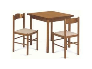 Picture of Table Pisa 80 x 80, robust table