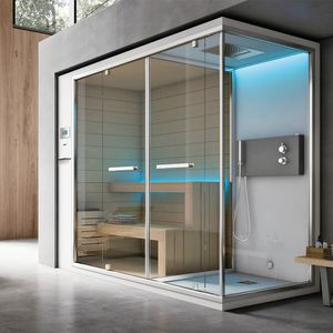 Ethos C, Shower with turkish bath, with touch panel and audio