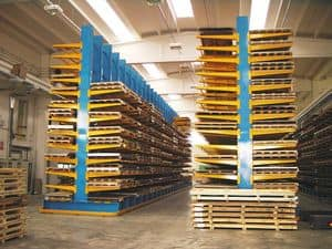 Picture of Cantilever sheet metal, shelves