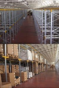 Picture of Drive In, shelving units