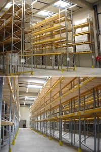 Picture of Pallet store, shelving unit