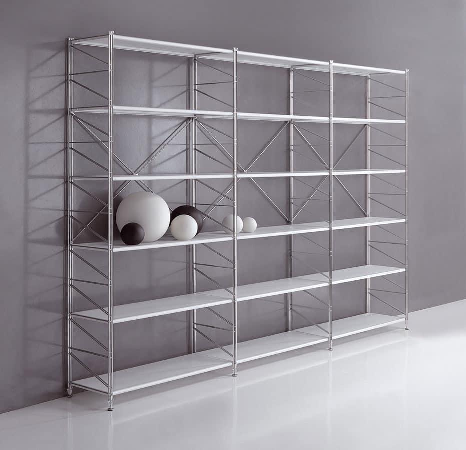 modular shelving for libraries and shops idfdesign. Black Bedroom Furniture Sets. Home Design Ideas