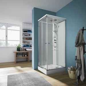 ARCHIMEDE, Self-supporting multifunctional shower cabin
