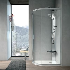 Aster-T, Shower with curved corner and magnetic closure