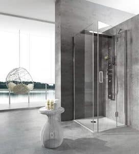 Bristol Box 4, Shower enclosure, with Jacuzzi, for spa