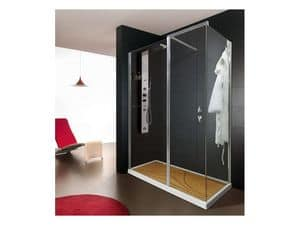 Picture of Must reverse and light, modern shower cubicles