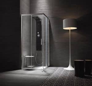 SLINTA 2.0, Multifunctional shower for hotel