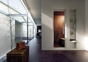 STEAM DOOR, Doors and windows for showers, for bathrooms hotels