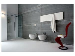 Picture of UNICO niche closing with door, multifunction shower cubicles