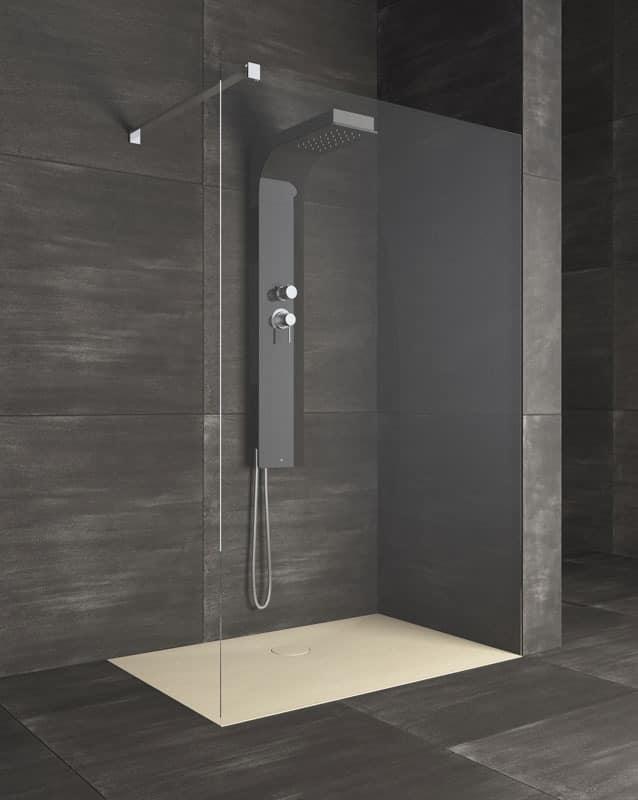 Dish For Shower Linear Style Hotel Bathroom IDFdesign