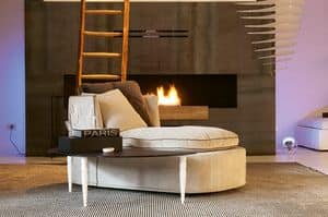 dl900 salt lake, Coffee table with metal legs, top in frosted glass