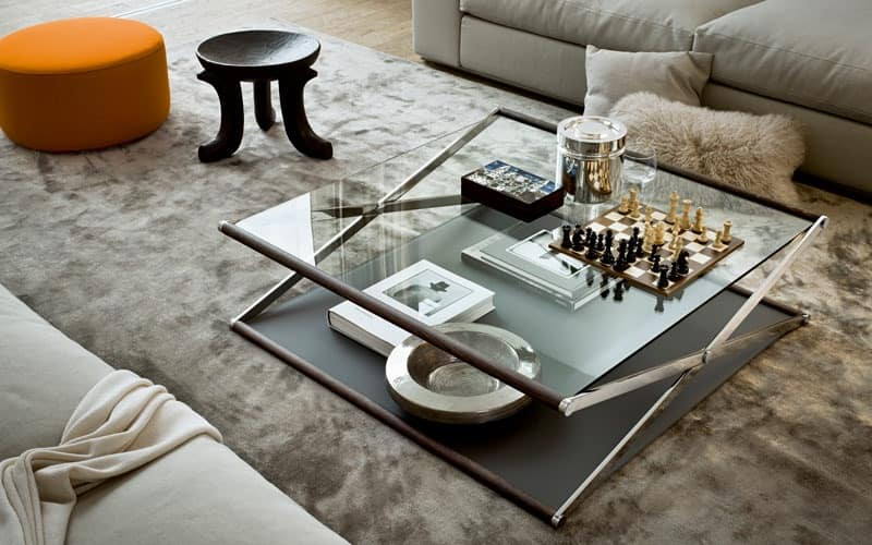 Coffee table with original shape NOX