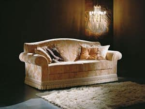 Picture of Ambrogio, wooden sofa