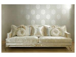 Sofa Upholstered In Polyurethane Walnut Feet Idfdesign