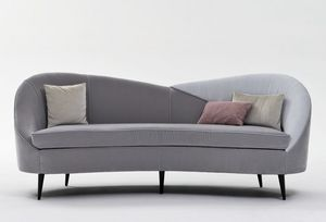 Ariel AR224, Sofa with rounded shapes
