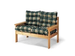 Picture of Creta 2p, wooden sofa