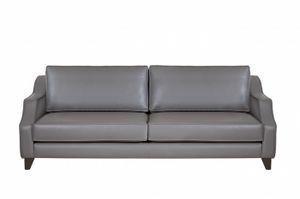 Downtown sofa, Sofa with a retro design