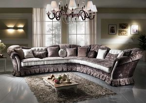 IMPERIALE angular, Corner sofa with an impressive design