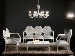 Picture of LUNA large sof� 3P 8239L, luxury sofas