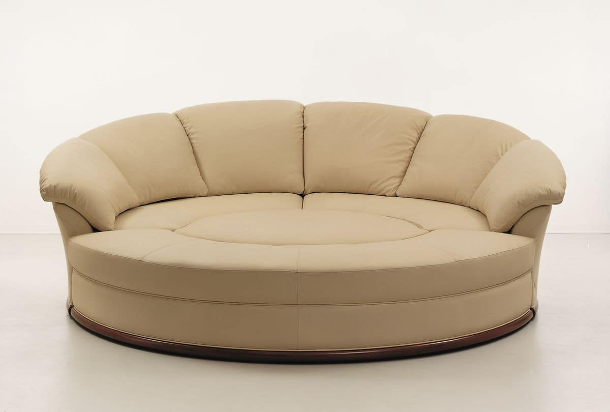 planet round sofa covered in leather modular. round sofa covered in leather modular  idfdesign