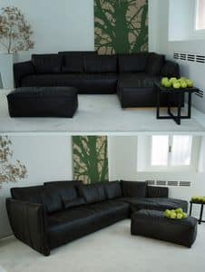 Picture of Fluon Corner Sofa, modern loveseats