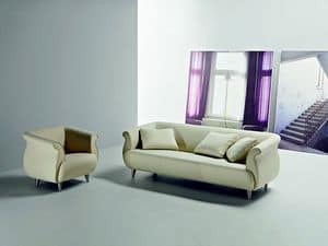 Picture of GENESIS - cod. 2011N, sofa with modern lines