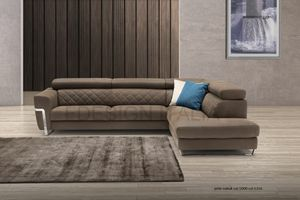 Hilton, Modular sofa with squared lines