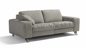 Ingrid, Sofa with squared armrests