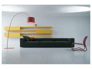 Picture of Insieme comp. 04, modern loveseats