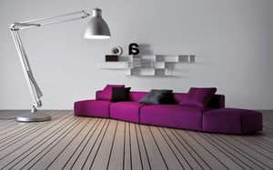 Picture of Insieme comp. 05, linear sofa
