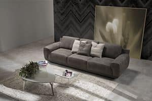 King, Sofa with internal structure in fir plywood