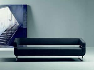 Picture of MATRIX - cod.4104, linear stuffed sofas