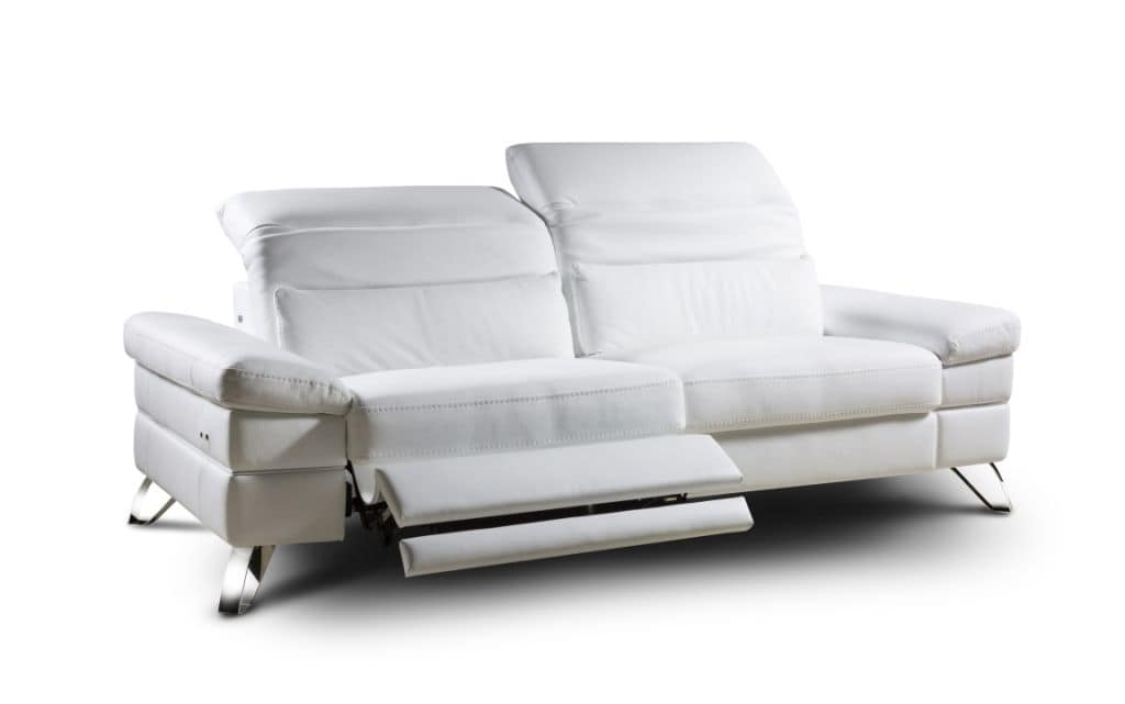 Wonderful Miami, Design Sofa 2 Places, Electric Reclining Mechanism